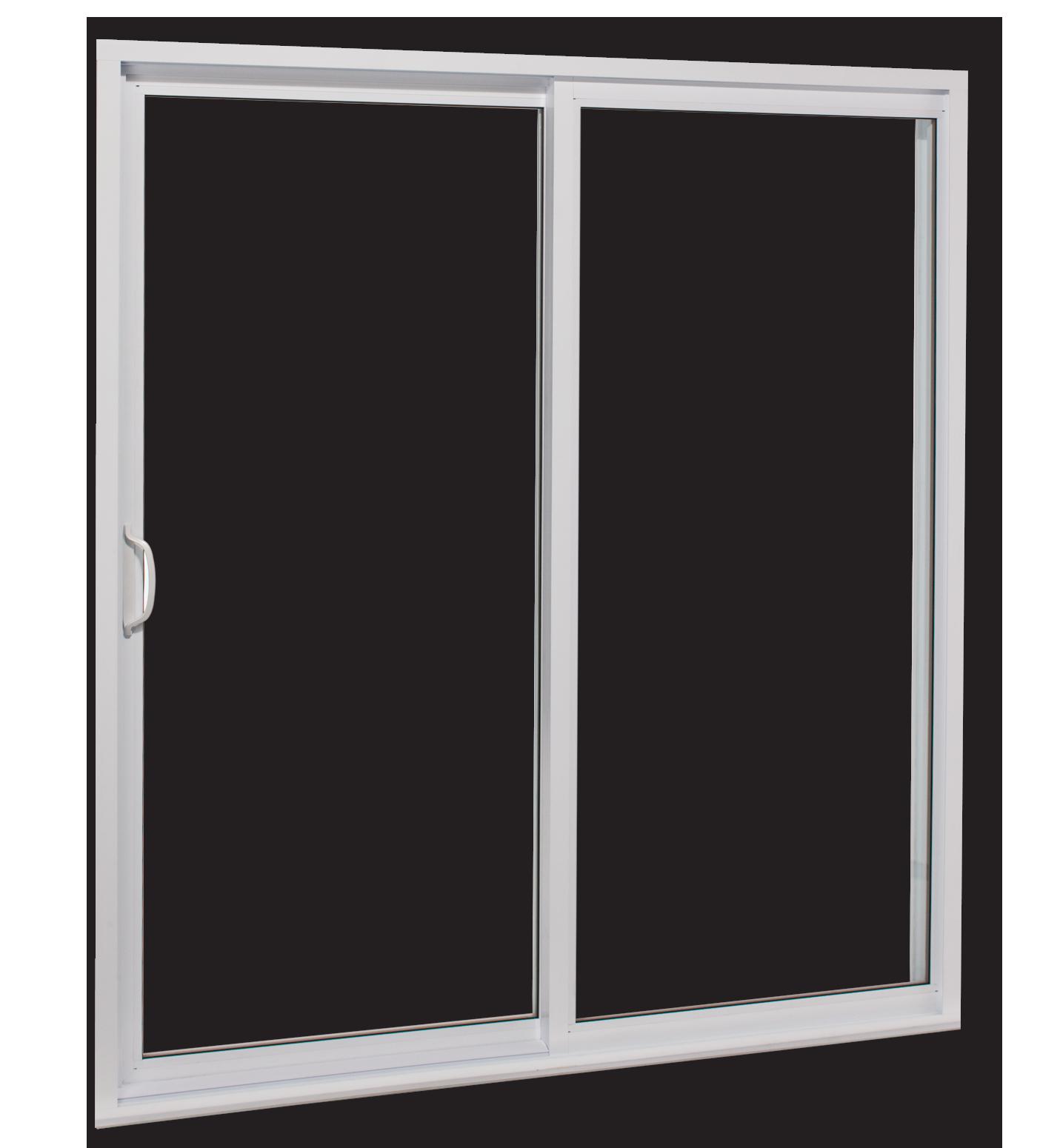 R301 Patio Door White on White Background
